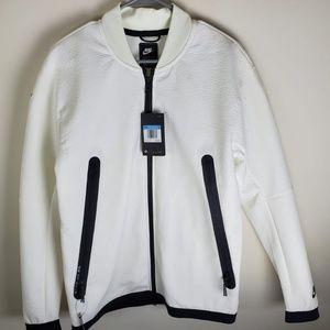 Nike Men's Sportswear Tech Pack Track Jacket White